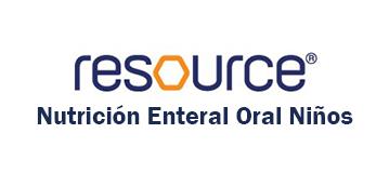 Resource Nutrición Enteral Oral - Niños