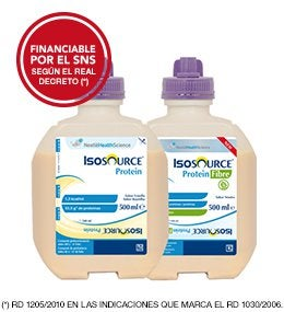 Isosource Protein e Isosource Protein Fibre